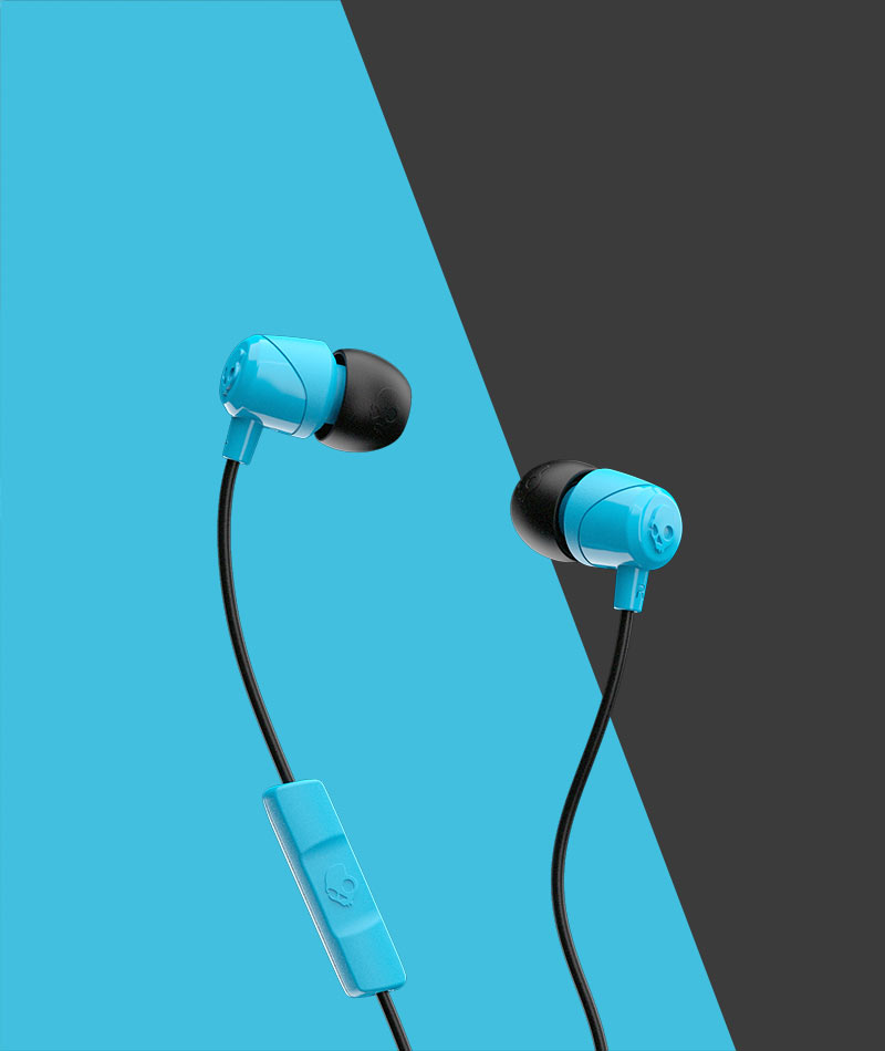 a87d4efc5a5 Jib with Microphone Earbuds - Free Delivery | Skullcandy