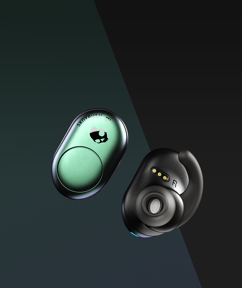 df63f4bac45 Bluetooth True Wireless Earbuds - Push Truly Wireless | Skullcandy
